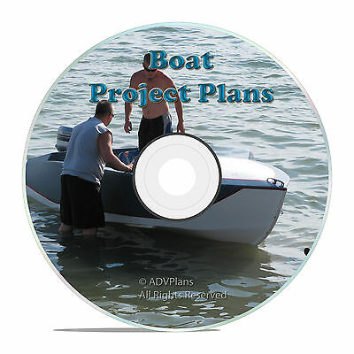 220 Boat Plans Canoe House Boats Inboard Kayaks, Wood Boat Building Plans on DVD