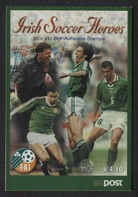 Ireland - 2002 - HB100 - €4.10  Booklet - World Cup Football Championship