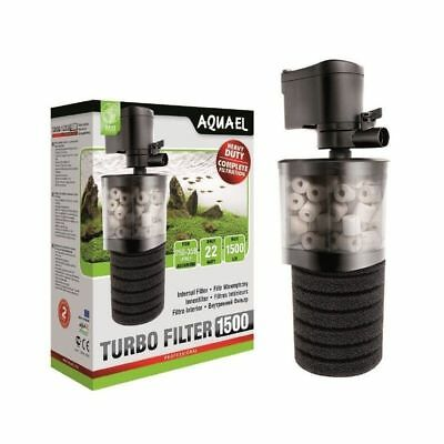 Aquael Turbo Filter 1500 Aquarium 250-350l Innenfilter Tauchfilter Filter Pumpe