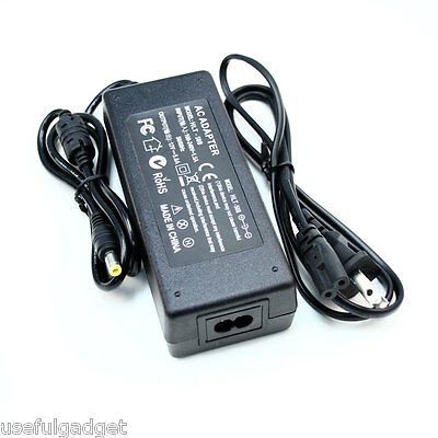 12V 5A 5.5mm 2.5mm 2.1mm AC DC Power Supply Adapter lots wholesale