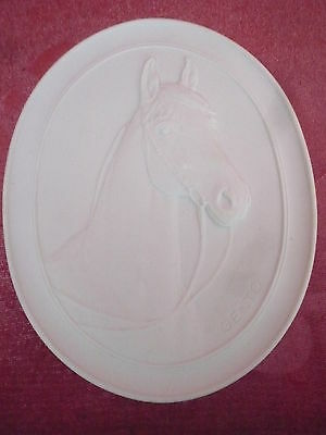 Picture Porcelain Relief - Horse - Signed Gento - Meissen