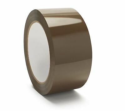 "12 Rolls Tan Packing Tape 2.5 Mil Hotmelt of Tape 2"" x110 Yards"