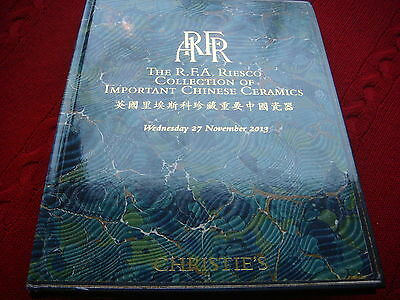 Christie's The R. F. A. Riesco Collection of Important  Chinese Ceramics   2013