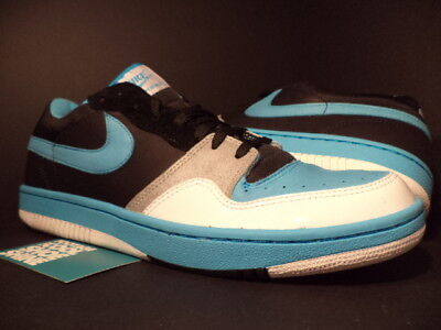 super popular f4fb5 548b9 2006 Nike Dunk COURT FORCE Low STUSSY BLACK CHLORINE BLUE WHITE 314209-042  DS 13