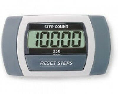 Sportline 330 Step Counter Pedometer - Fitness Exercise Distance Calculator