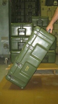 Hardigg Pelican 33x21x13 Medical Chest w/ 5 Totes w Wheels Waterproof First Aid