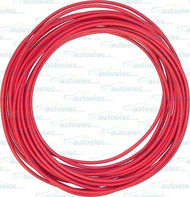 8 B&S CABLE DUAL BATTERY SYSTEM 12V x 6.5 METRES RED COVER 8BS BS B S NEW