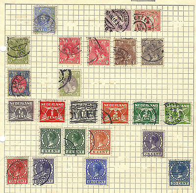Netherlands Holland Old STAMP Collection Ref:X557