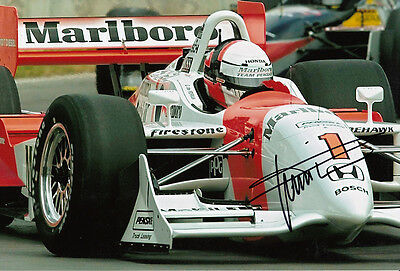 Gil de Ferran Hand Signed Indianapolis 500 Winner Photo 12x8 3.