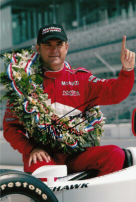Gil de Ferran Hand Signed Indianapolis 500 Winner Photo 12x8 5.