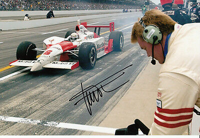 Gil de Ferran Hand Signed Indianapolis 500 Winner Photo 12x8 7.