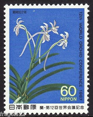 Japan 1987 - Congresso Sulle Orchidee - Y. 60 - Mnh (2)