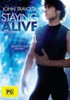 STAYING ALIVE John Travolta, Cynthia Rhodes DVD NEW