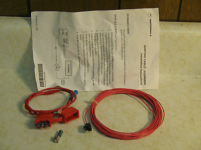 New Motorola FKN4868A Ignition Cable for iM1000 Modem NEW in Package!