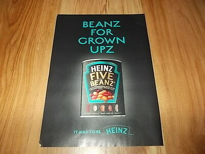 Heinz five beanz-2012 magazine advert