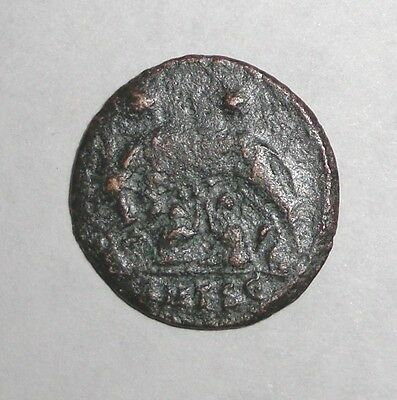 Ancient Roman Empire, Urbs Roma commemorative, 330 - 340 AD. She-Wolf and twins