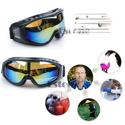New Skiing Goggles Outdoor Sport Dustproof Sunglass Coated Safety Eye Glasses