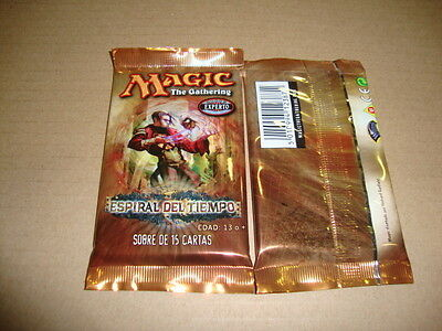 Espiral Del Tiempo Sobre De Magic The Gathering En Castellano Nuevo Precintado