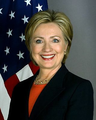 Hillary Clinton 8 x 10 / 8x10 GLOSSY Photo Picture