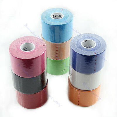 1 Roll Sports Muscles Care Elastic Kinesiology Physio Therapeutic Tape 5m x 5cm