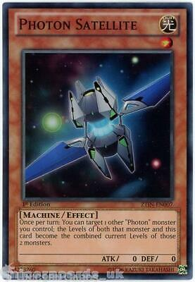 ZTIN-EN007 Photon Satellite Super Rare 1st Edition Mint YuGiOh Card