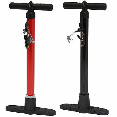 Pedalpro High Pressure Floor Standing Bike/cycle/bicycle Wheel Tyre Hand Pump