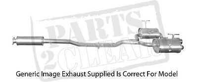 Mini Cooper S 1.6 Centre Exhaust Silencer Pipe Middle R53 R52 165 170 2002-