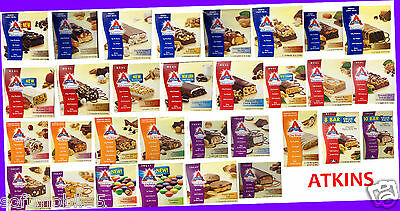30 or 24 Bars Atkins Weight Loss Program U~PICK FLAVOR Meal Replacement VARIETY