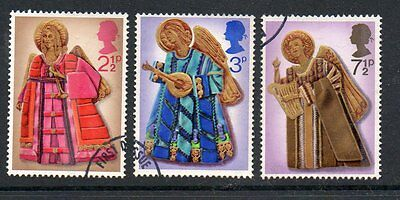 GB 1972 Christmas Fine used set stamps