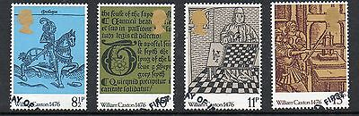 GB 1976 500th anniversary of British Printing fine used set stamps