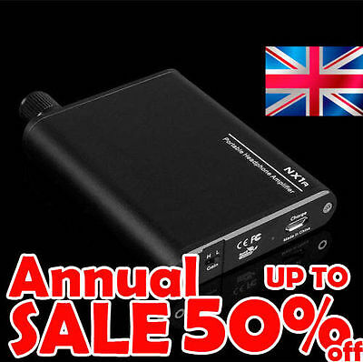 TOPPING NX1a Portable Headphone Amplifier USB Rechargeable for iPhone Android PC