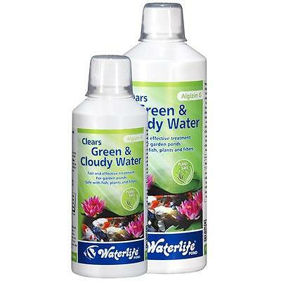 Waterlife Algizin G Pond Fish Green Water Algae Remover Treatment 250 - 1000ml