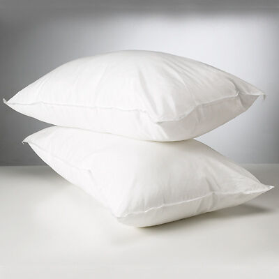 Linens Limited Polycotton Hollowfibre Non-Allergenic Pillow, Cot Bed