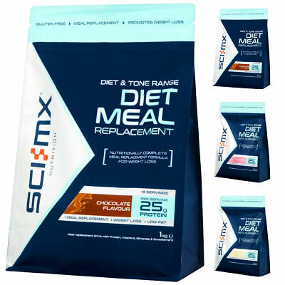 Sci-MX Nutrition DIET PRO™ MEAL 1000g / 1kg / 2.2lbs With CLA & Green TEA + Del.