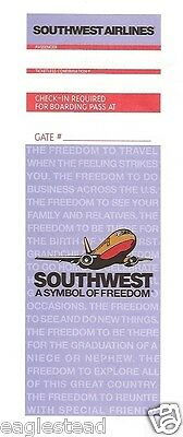 Ticket Jacket - Southwest - B737 - Symbol Freedom - Lavender - 1998 (J1487)