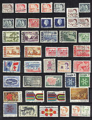 CANADA OLD Stamp Collection QEII EARLY ISSUES COMMEMORATIVES DEFINITIVES REF:X42