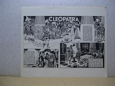 Wally Wood's One-Sheet History Prints: Cleopatra (USA)