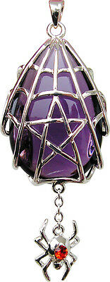 SPYDER STAR PENDANT FOR WINNING  Wicca Pagan Witch Goth ANNE STOKES