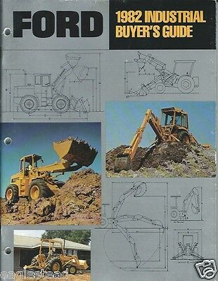 Equipment Brochure - Ford - Tractor Loader etc 21 Brochures in One 1982 (E1290)