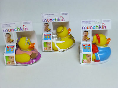 Munchkin Super Safety Bath Ducky With Safety Indicator O.k. To Bathe Or To Hot