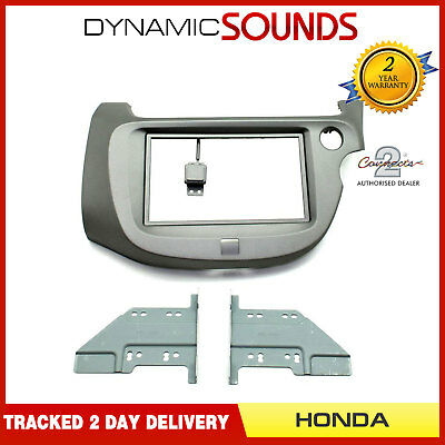 CT23HD16 Double Din Fascia Adapter Panel Plate Kit For HONDA Jazz 2009 to 2013