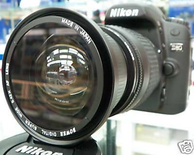 Wide Angle Macro Fisheye lens for Nikon d5200 d3200 d5100  d3000 as 50/35mm New