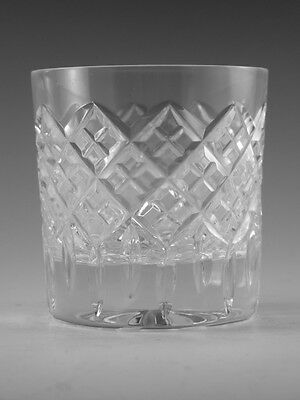 STUART Crystal - BLENHEIM Cut - 8oz Tumbler Glass / Glasses - 3 1/4""
