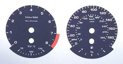 Lockwood BMW 3-Series E90 Alpina BLUE Dial Conversion Kit C739