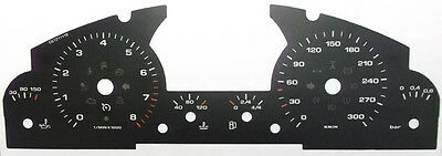 Lockwood Porsche Cayenne Mk1 2002-2010 BLACK Dial Conversion Kit C672