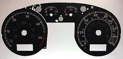 Lockwood VW Passat B5/B5.5 Diesel Full Computer Window BLACK Dial Conversion Kit