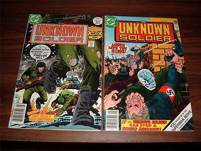 Unknown Soldier 205-268----lot of 20 comic books
