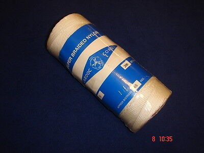 Cardoc Cord Braided Nylon Chalk/Brick Block Line Size B 200m Large Roll