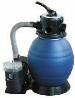 "swimming pool/pond/spa 12"" Sand filter/pump .25hp combo 4m3/h"