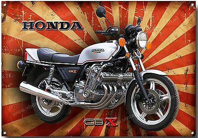 Large A3 Size Honda Cbx 1000 Motorcycle Metal Sign,classic,retro,garage,